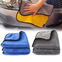Auto Care 1PC 40x40cm Super Thick Plush Microfiber Car Cleaning Cloth Car Care Microfibre Wax Polishing Detailing Towel New