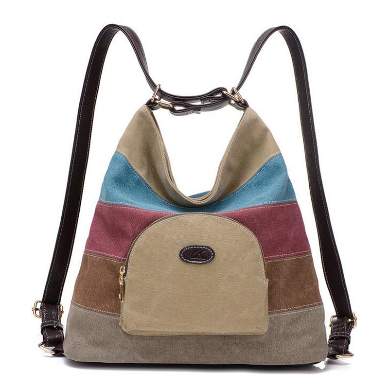 2017 new women canvas backpacks shoulder travel  bag lady school bag mochila cute bags designer brand female rucksacks<br><br>Aliexpress