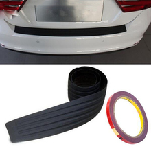 Buy Car trunk bumper trim rear guard plate modified protective strip Ford Focus 2 3 4/Ecosport/Edge/Mondeo/Fiesta for $8.84 in AliExpress store