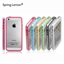 Spring Lemon 2016 New Popular Cell Phone Transparent Bumper Protection For iPhone 5 5S SE Case