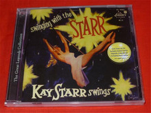 Free Shipping: Swinging with the Starr  Kay Starr swings Rock CD Seal