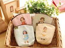 12PCS baby shower favors souvenirs  bag princess party supply gift girl cute doll pattern