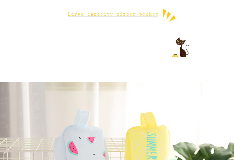 Large Bag Pencil Case For Student Girl  Cute School Stationery Supplies Gift Big Kawaii Silicone Cartoon Fruit Pen Box Zipper 1 (1)1