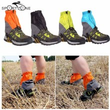 Outdoor Gaiters Silicon Coated Nylon Waterproof Ultralight Gaiters Leg Protection Guard Hiking Climbing Trekking Gaiters