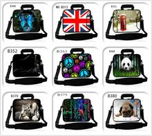 Support Custom Personality Laptop Shoulder Bag Case 7/9/10/11/12/13/14/15/17.3 inch for MacBook Lenovo Dell hp acer VAIO(China)