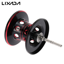 Magnetic Brake Dual Brake Fishing Reel Spool Metal Fishing Line Spool Spare Parts for Baitcasting Reel Fishing Accessories