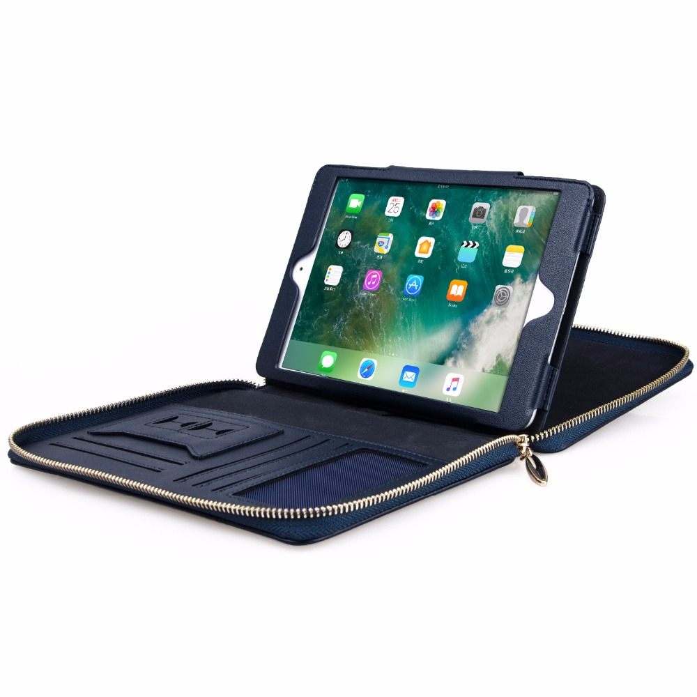 GrassRoot Tablet Case for ipad mini 1 2 3 4 Leather Sleeve Wallet Style Stand Tablet Cover for ipad mini4 Portable Handle Bag<br>
