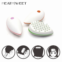 Healthsweet Mini Head Massager Machine Electric Scalp Massage Combo Antistatic Promote Blood Recycle Vibrating Massage Hair Comb(China)