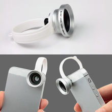 2017 Hot Sale Universal Clip 0.67X Macro Lens +Wide Angle 1For Samsung iphone HTC Mobile Phone New Arrivals
