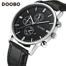 DOOBO Luxury Brand Military Business Watches Men Quartz-Watch Analog Leather Clock Man Sports Army Watches Relogio Masculino
