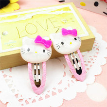 Fashion Children Headwear Hello Kitty  Hair Clips Hairbands Hair Accessories Barrettes  Bandage hairgrip Hairpin For Cute Baby