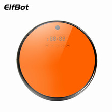 Elfbot FS900 Super Quite Vacuum Cleaner Robot Tempered Glass Touch Screen Reservation Dry And Wet Mop Robot Vacuum Cleaner(China)