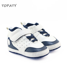 Brand New Bebe Shoes Baby Boys Toddler Shoes Infant Crib Shoes Basketball Sneakers First walkers Dropshipping Footwear prewalker(China)