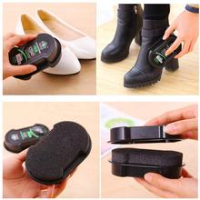 Sponge Colorless Shoes Wax Cleaning Brush Leather Maintenance Care Shine Polish Artifacts Leather Cleaner Shoe care tool(China)