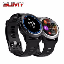 Slimy H1 GPS Wifi 3G Camera Smart Watch Android OS MTK6572 IP68 Waterproof 400*400 Heart Rate Monitor 4GB/512MB for Android IOS