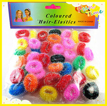 45pcs/lot Colorful Child Kids Hair Holders Cute Rubber Bands Hair Elastics Accessories Lovely Girl's Charms Tie Gum