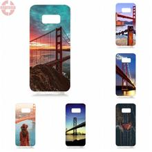 EJGROUP For Samsung Galaxy S8 5.8 inch G950 G950F SM-G9500 Soft TPU Silicon Bags Cases Voyages Over San Francisco(China)
