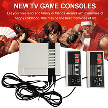 iMice Retro Childhood Mini TV Handheld Video Game Console For Nes Games Built-in 500 Different Games PAL+NTSC dual gamepad