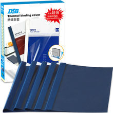 DSB Thermal Binding Cover, A4, 6 mm Diameter, Dark Blue, 50 Sheets, 24 Pcs, Super Sticky Hot Melt Adhesive, Office Supplies(China)