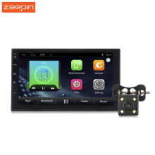 Zeepin 7002 Car Mp5 Multimedia Player 7 Inch 2 Din Android 6.0 1024 x 600 HD Camera Touch Screen GPS Wifi Bluetooth Supply(China)