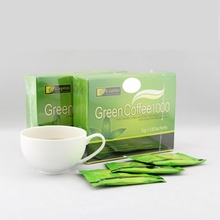 Green Coffee 1000 90bags/5Box Weight Loss Diet Tea Supplement MP0092 Burn Fat Slim Tea Reduce Cellulite's Diet Tea 3 Months Use