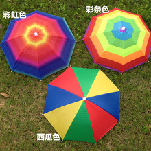 Hat Cap Folding Women Men Dual Purpose Umbrella Rain Stopper Outdoor Sport Fishing Hiking Golf Beach Headwear Handsfree Umbrella