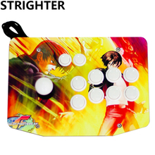 arcade joystick 10 buttons pc controller computer game Arcade Sticksss new King of fighters Joystick Consoles Kyo Kusanagi