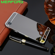 Buy LG Q6 Case Q6A Q6 Plus 5.5'' Luxury Metal Aluminum Bumper Mirror Acrylic Hard PC Back Cover LG Q6 M700N M700A Phone Case for $3.88 in AliExpress store