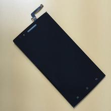 Black Full Touch Screen Digitizer Sensor Glass Lens + LCD Display Monitor Screen Panel Module Assembly for Oppo Find 5 X909