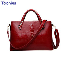 2017 New Fashion Leather Women's Handbags Tote Bag High Quality Imitation Designer Leather Shoulder Messenger Bags Hand Bag