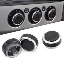 Hot ! for FORD FOCUS 2 focus 3 Mondeo AC Knob Car 3PCS/LOT Air Conditioning heat control Switch knob for focus 2 focus 3