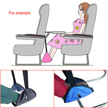 Portable Lightweight Airplane Travel Hanging Footrest Foot Rest Hangmat Table Hanging Feet Leisure Pad Adjustable Stand