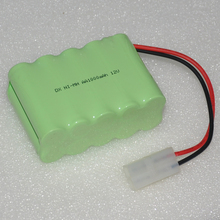 1-2PCS 12V AA rechargeable battery pack 1000mah 2A ni-mh nimh batteries NI MH cell for toys cordless phone B(China)