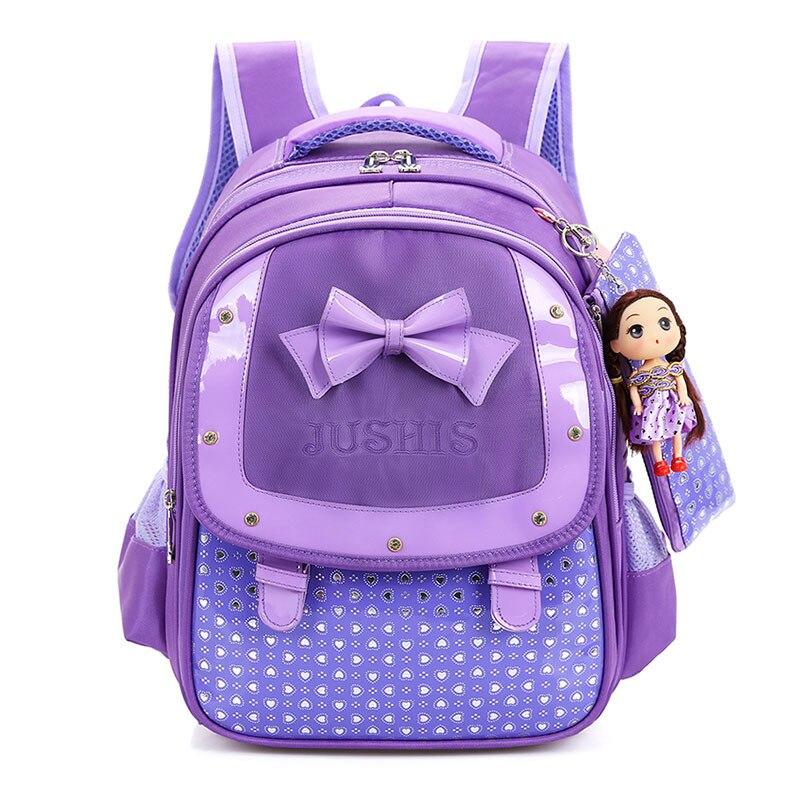 Children School Bags For Girls New 2017 Kids Backpack Book Bag Princess Schoolbags Mochila Escolar<br><br>Aliexpress