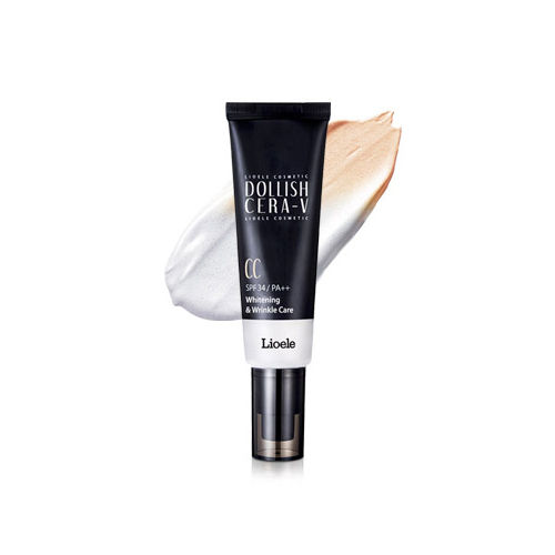 BEST Korea Cosmetic LIOELE Dollish Cera-V CC Cream SPF34 PA++ 50ml BB CC Cream Whitening Makeup Face Base Concealer Moisturizing<br>
