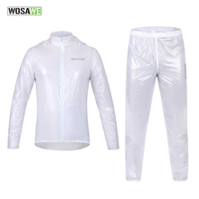 Arsuxeo Wosawe Cycling Rain Jackets With Hood Tpu Ultralight Waterproof Bike Bicycle Raincoat Suit Sports Wind Coat Clothing