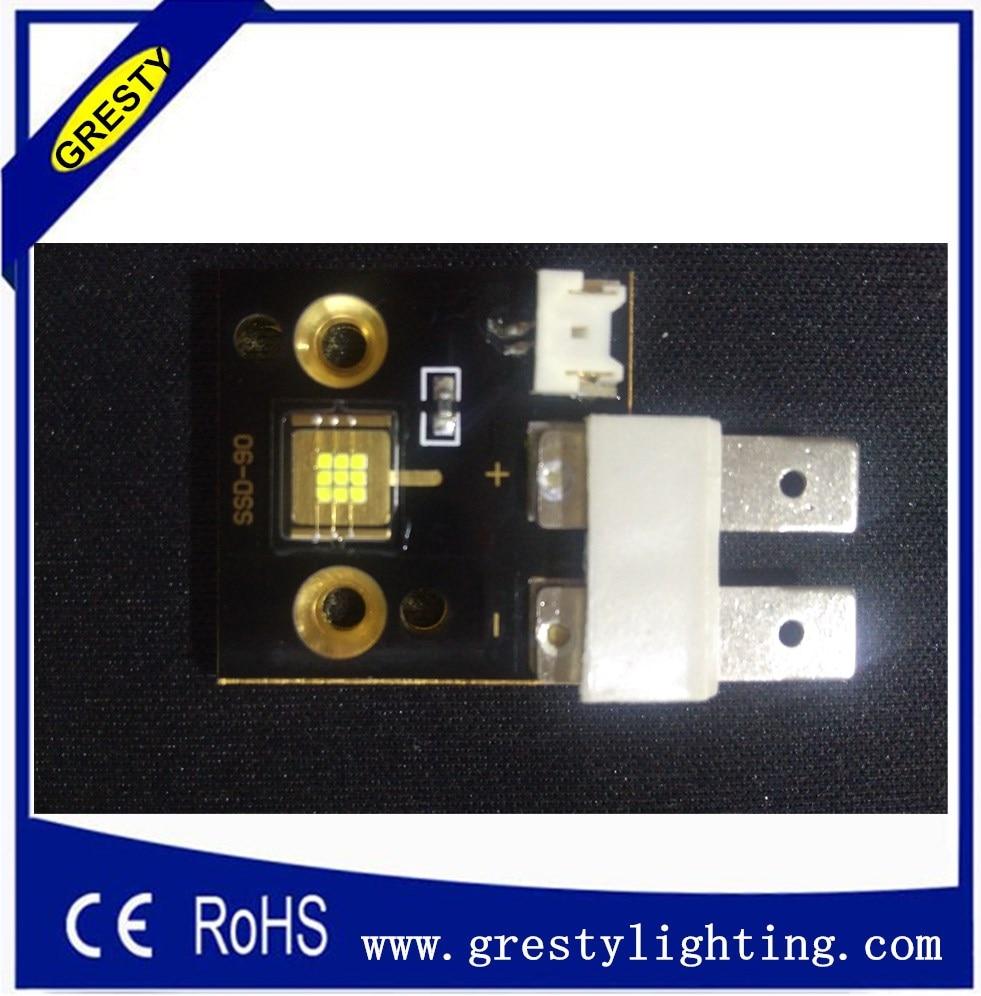 10pcs/lot Increase 20% Brightness Than Phlatlight led module SSD90 White Color 6500k 3000 Lumens 9pcs Chips 60W Led Light Source<br>