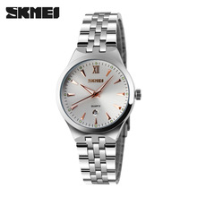 Watches Women Luxury Brand Watch SKMEI Quartz Wristwatches Fashion Sport Full Steel Dive 50m Casual Watch relogio feminino