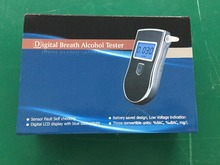 Professional Alcohol Content Tester Digital LCD Breathalyzer Portable Alcohol Tester with Backlight Driving Essentials