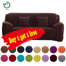 Cover on the corner sofa slipcovers universal Loveseat armchair living room furniture sectional l shaped corner Couch cover