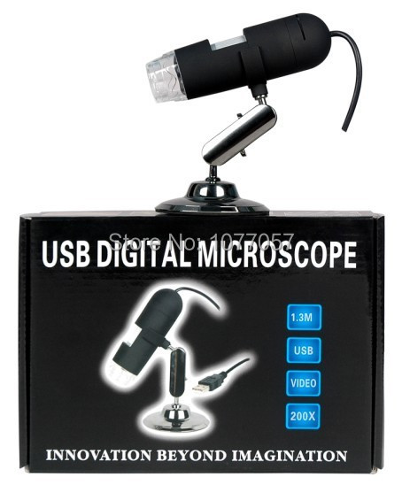 Free ship, CE ,ISO,Skin &amp; Hair handheld Microscopes/2.0M Pixel USB digital Microscope with 20-200x Magnification<br><br>Aliexpress