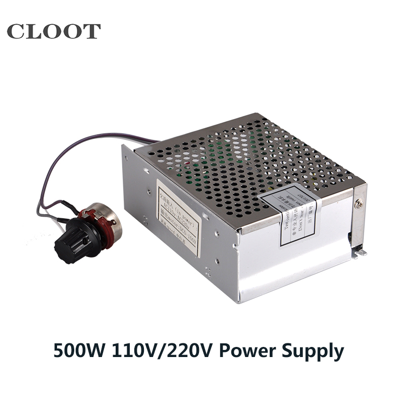 500W DC Spindle Power Supply 220V /110V With Speed Control Mach3 CNC switching power supply 48v 6A For Spindle Milling Motor<br>