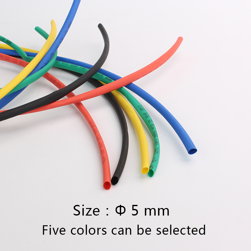 12mm-50mm 2:1 Heat Shrink Shrinkable HeatShrink Tube Tubing Wire 7-color Dia