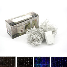 Hot Sale Curtain String Lights Garden Lamps New Year Christmas Icicle LED Lights Xmas Wedding Party Decorations 300LEDs 3m x 3m