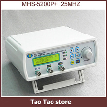 Digital Dual-channel DDS Signal Generator Arbitrary waveform generator Function signal generator 25MHz Amplifier 5MHz MHS-5200P+
