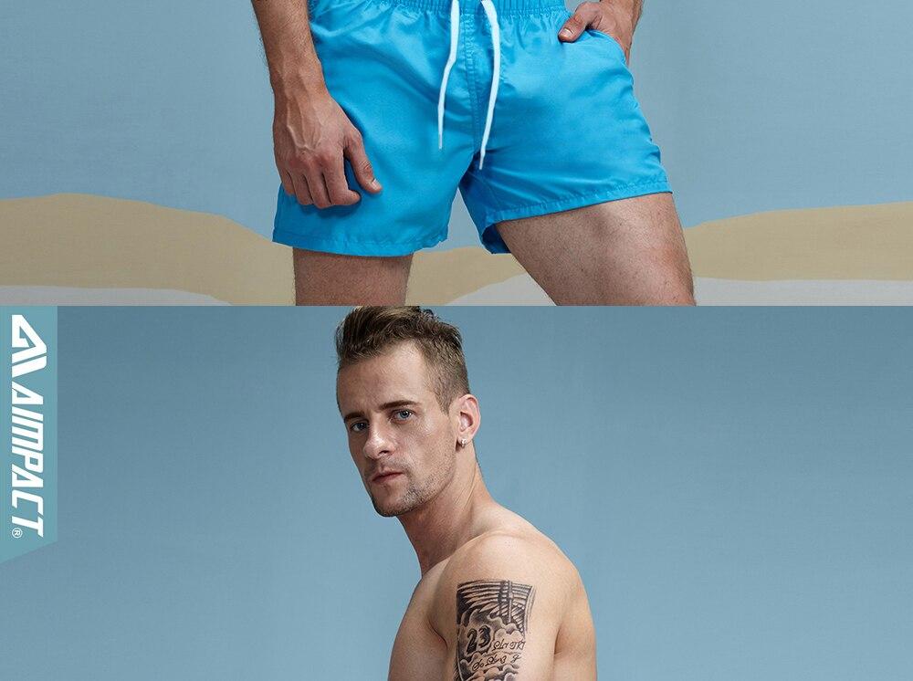Aimpact Quick Drying Men's Board Shorts Popular Men's Jogger Short Fashion Sexy Men's Board Short PF55 Men Shorts Drop Shopping 21