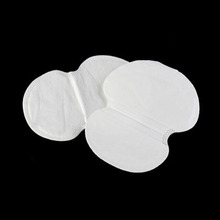 50Pcs/set Underarm Dress Clothing Armpit care sweat scent perspiration Pad shield Absorbing deodorant Antiperspirant