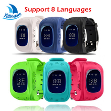 2017 OLED HD Screen Smart Safe GPS GSM  SOS Call Location Locator Tracker Watch Wristwatch for Kids Child Anti-Lost Monitor Baby