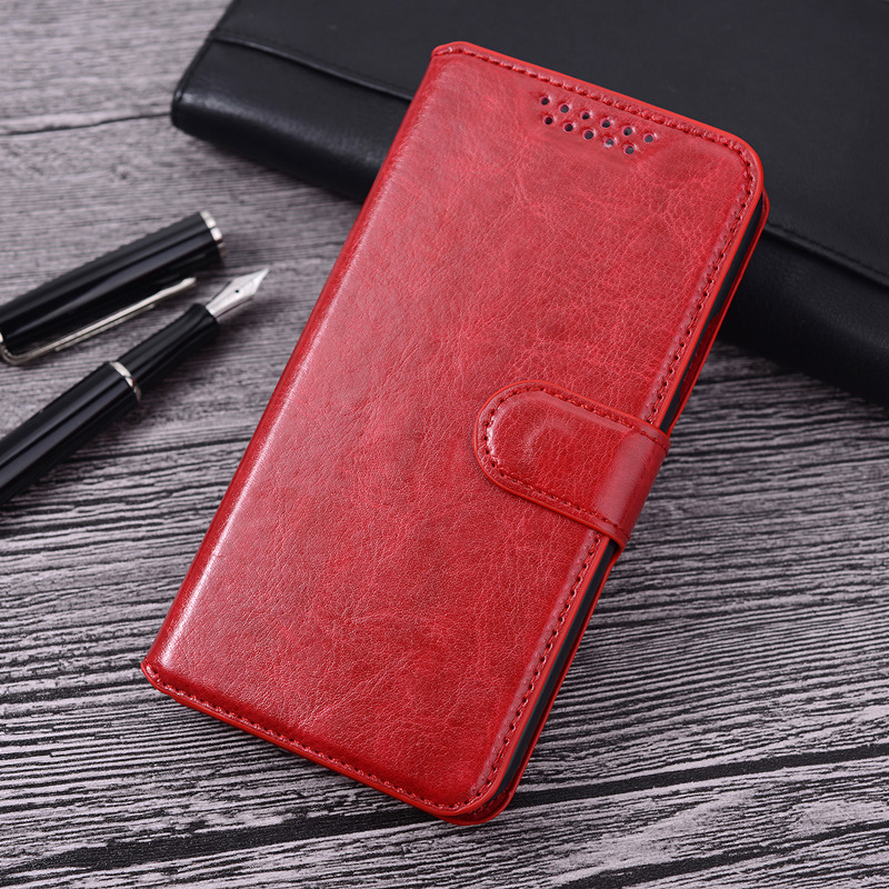 PU Leather Wallet Flip Case Cover