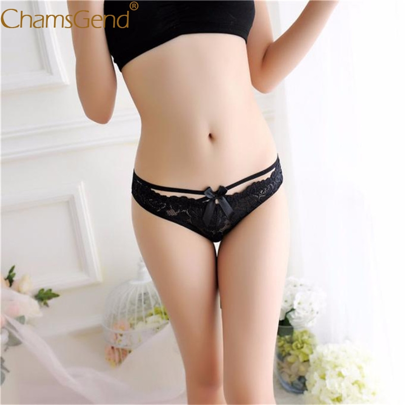 Chamsgend Intimates Women Sexy Hot Underwear Lace Briefs Thongs Lingerie Panties 80110